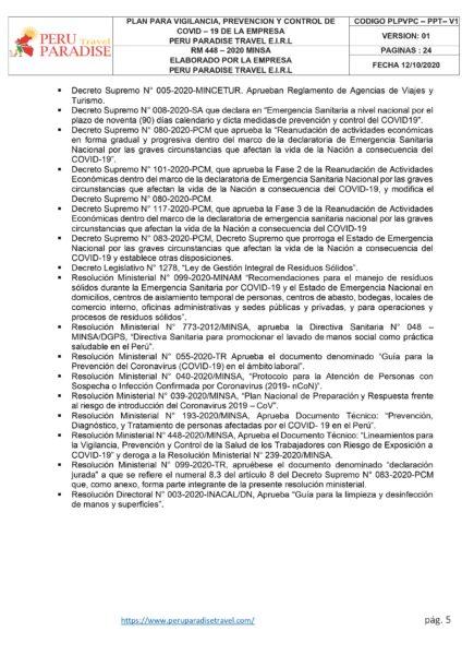 Protocolo 005